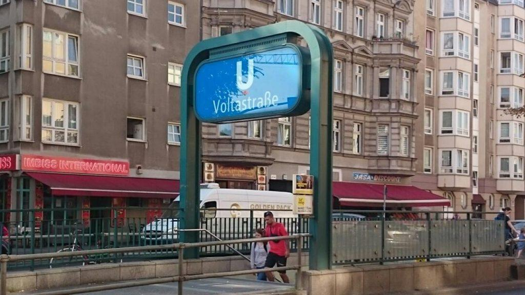 U-Bahnhof Voltastraße